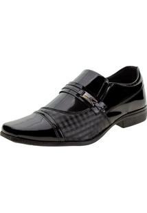Sapato Masculino Social Sociale - 016 Verniz/Preto 37
