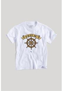 Camiseta Infantil Marujo Reserva Mini Masculina - Masculino-Branco