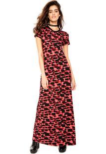 Vestido Ellus 2Nd Floor Longo Ston Vermelho