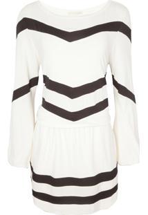 Vestido Bobstore Listras - Off White