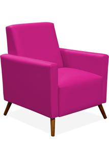 Poltrona Decorativa Lyam Decor Liz Corino Pink