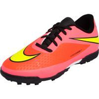 1eeafe7ba0ef3 Chuteira Nike Society Jr Hypervenom Phade Tf Rosa