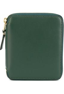 Comme Des Garçons Wallet Carteira De Couro - Green 3de2b71717