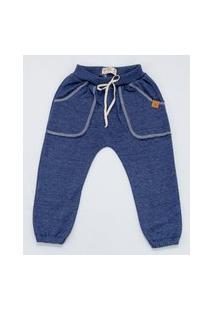 Calça Mini Lord - Thomas Menino - Azul Marinho