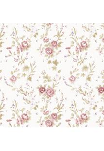 Papel De Parede Stickdecor Adesivo Floral Vintage 092