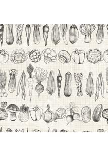 Papel De Parede Adesivo Legumes (2,50M X 0,58M)