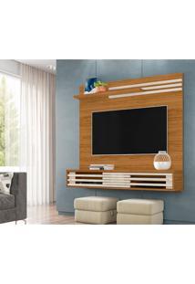 Painel Para Tv Até 55 Polegadas Frizz Sublime Naturale E Off White