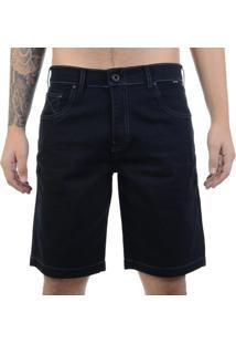 Bermuda Jeans Hurley 84 Slim - Preto / 38
