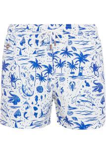 Bermuda Life Is A Beach - Branco E Azul