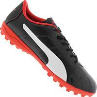 75552b719b Amazon. Chuteira Futebol Society Puma Clássico Tt Bdp Cor  Pto Bco - Tam  40