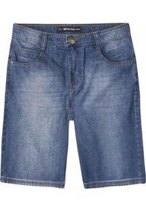 Bermuda Jeans Masculina Hering Em Modelagem Tradicional