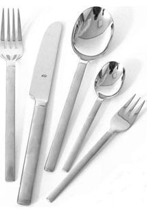 Faqueiro Carrara Aço Inox 18/10 68 Peças Serve 12 Pessoas Bsf