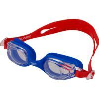 19941f5a6a675 Oculos De Natação Speedo Vermelho   Shoes4you