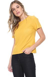 Camiseta Sacada Flamê Amarela