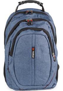 bb9b2898b Mochila Para Notebook Reforçada Com Cabo De Aço - Swiss Portinari W -  Unissex-Azul
