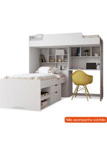 Beliche Multifuncional Office New I Branco