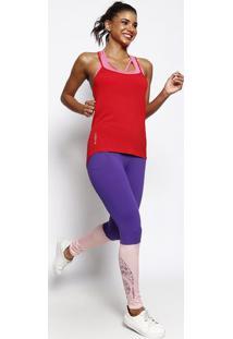 Blusa Lisa Com Alã§As - Vermelha - Physical Fitnessphysical Fitness