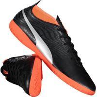 7b4b5950ce Chuteira Puma One 18.4 It Futsal Preta