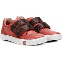 Netshoes. Tênis Infantil Capodarte Velcro Strass ... ba3cfb246662a