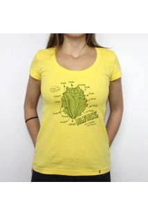 Alface - Camiseta Clássica Feminina