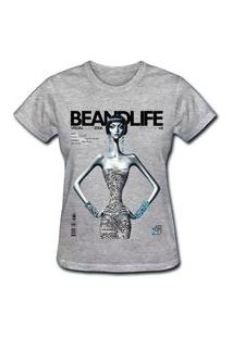 Camiseta Coolest Beandlife Cinza