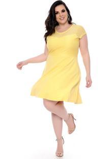 91d8e3f3b2 Vestido Renda Tamanho Grande feminino