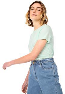 Camiseta Gap Lisa Verde - Kanui