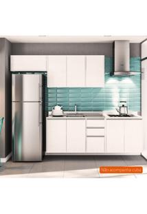 Cozinha Compacta Mali 8 Pt 3 Gv Branca