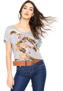 Camiseta Lez A Lez Silk Cinza