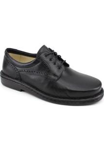 Sapato Opananken Diabetics Line Masculino - Masculino-Preto