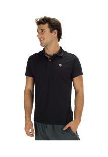 Camisa Polo Fatal Estampada 23623 - Masculina - Preto