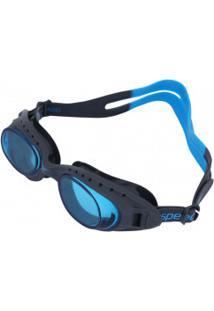 Óculos De Natação Speedo Tornado - Adulto - Cinza Esc/Azul