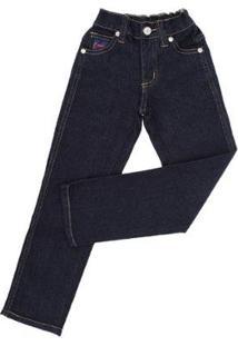 Calça Jeans Infantil Dock'S Masculina - Masculino-Azul Escuro