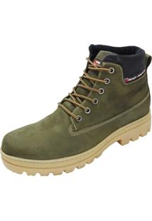 Bota Atron Shoes Adventure Ride Work Cinza
