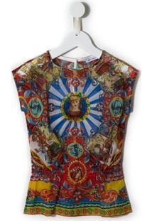 Dolce & Gabbana Kids Blusa Estampada - Estampado