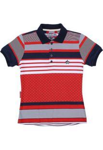 d059b58a12 Camisa Polo Listrada Rodeo Western Feminina - Feminino