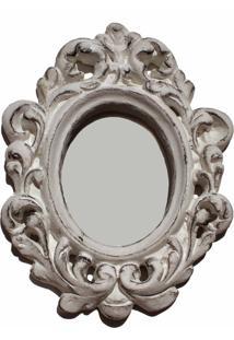 Espelho Casa Da Mãe Joana Asti Branco