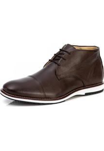 Bota Sapato Brogue Premium Oxford Mocassim Casual Social 8007