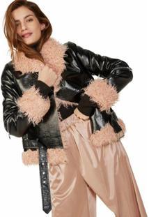 Jaqueta Verniz Fur