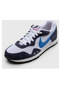 Tênis Nike Sportswear Venture Runner Branco/Azul-Marinho