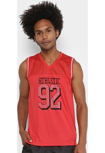 Regata Gonew Basket Masculina - Masculino-Vermelho