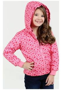 Jaqueta Infantil Puffer Estampa Estrelas Marisa 10f82245641