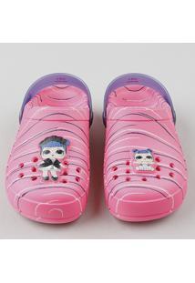 Babuche Infantil Grendene Lol Surprise Listrada Pink