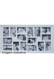 Kapos Painel Para 16 Fotos Branco 43X83X3Cm