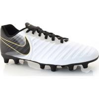 Home Vestuário Esportivo Chuteiras Branca Sintetica. Chuteira Nike Tiempo c383313272c09