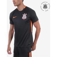 Camisa Nike Corinthians Iii 2017 2018 Jogador Masculina f0f109dd4f9f0