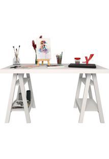 Mesa Para Computador Art-Artany - Branco