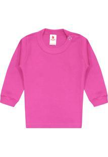 Camiseta Zupt Baby Lisa Pink