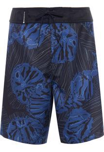 Bermuda Masculina Surf Coral - Azul