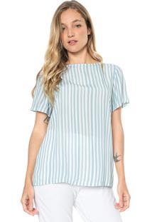 Camiseta Forum Listras Azul